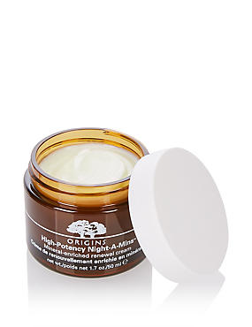 High-Potency Night-A-Mins™ Mineral Enriched Renewal Cream 50ml