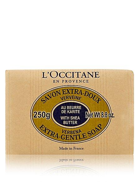 Verbena Shea Butter Extra Gentle Soap 250g