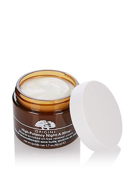 High-Potency Night-A-Mins™ Mineral Enriched Oil-Free Renewal Cream 50ml