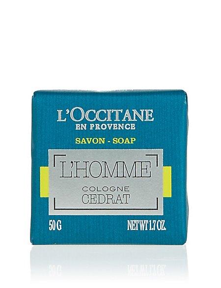 Cedrat L'Homme Soap 50g