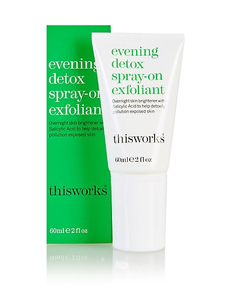 Evening Detox Spray-on Exfoliator 60ml