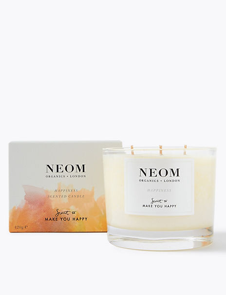 Happiness 3 Wick Candle 420g