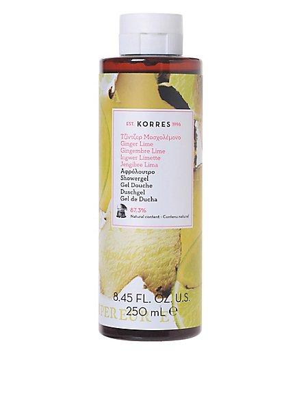 Ginger Lime Shower Gel 250ml