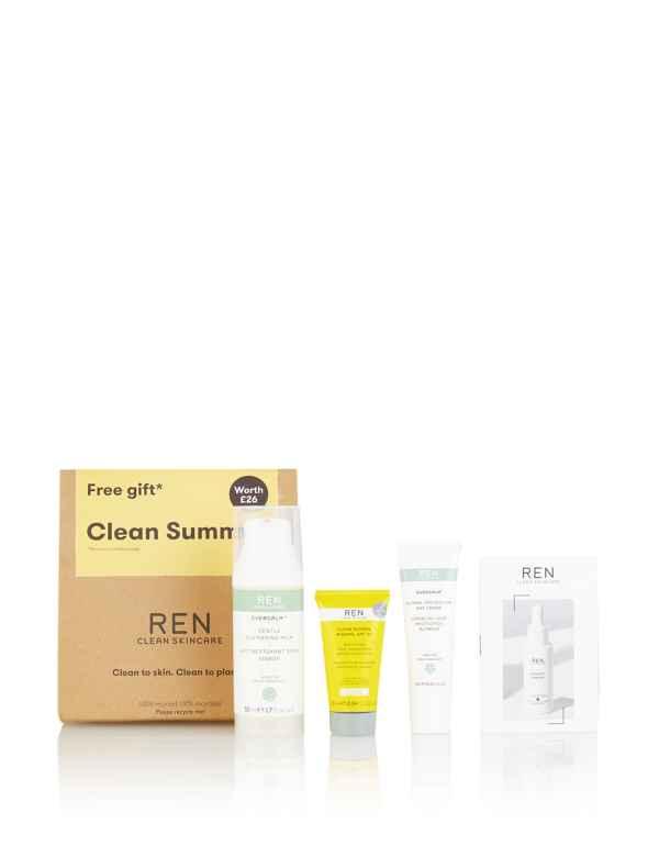 Ren V Cense Revitalising Night Cream 3 X 15ml New Fragrant Flavor Sample Size In