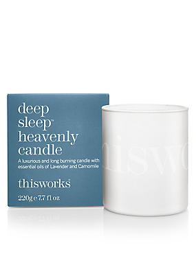 Deep Sleep Heavenly Candle 220g