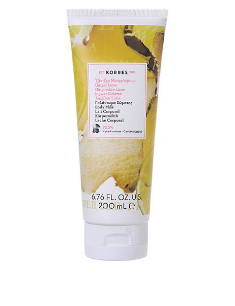 Ginger Lime Body Milk 200ml