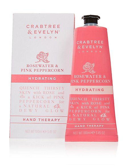 Rosewater & Pink Peppercorn Hydrating Hand Therapy 100ml