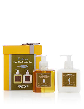 Verbena Hand Wash & Lotion Set