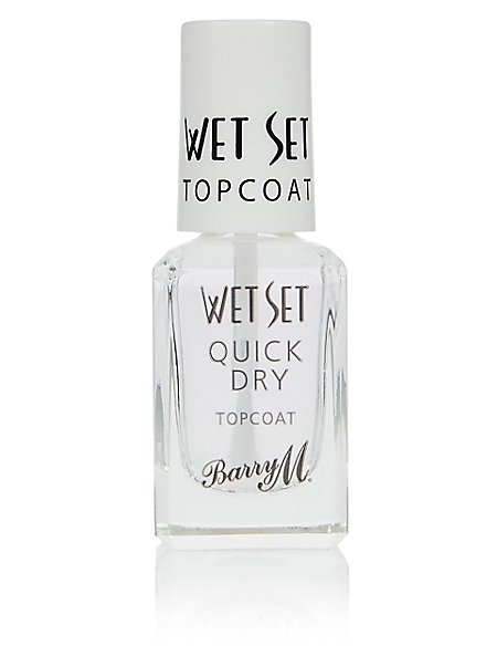 Wet Set Quick Dry Topcoat 10ml