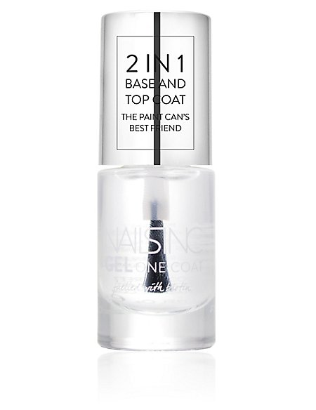 2 in 1 Base & Top Coat 5ml