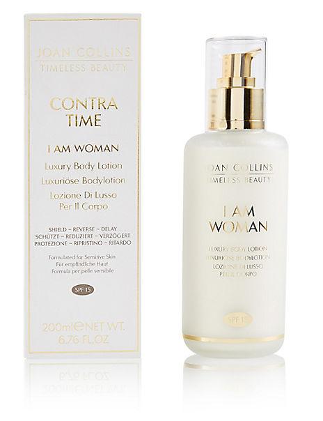 I Am Woman Body Cream SPF15 200ml