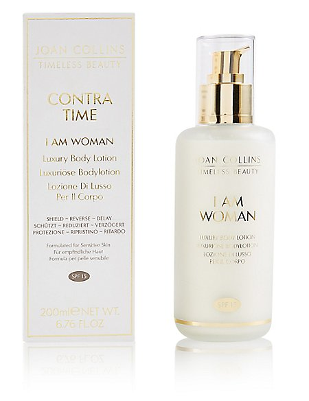 I Am Woman Body Cream SPF15 200ml