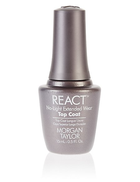 React No-Light Extended Wear Top Coat 15 ml