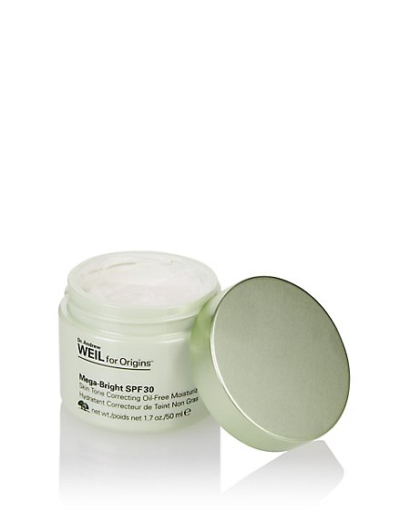 Dr. Andrew Weil Mega-Bright Skin SPF30 Tone Correcting Moisturizer 50ml