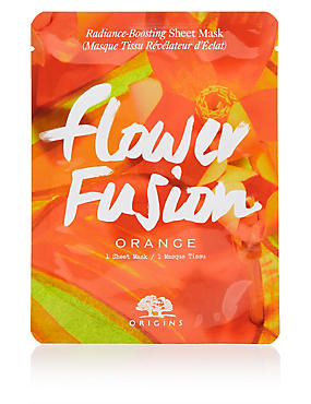 Flower Fusion™ Hydrating Sheet Mask - Orange Flower