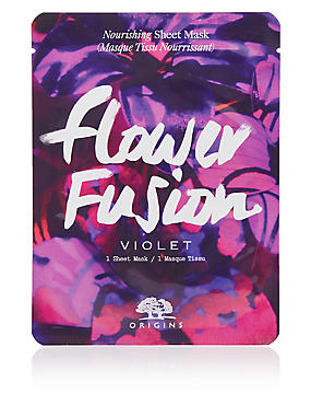 Flower Fusion™ Hydrating Sheet Mask - Violet