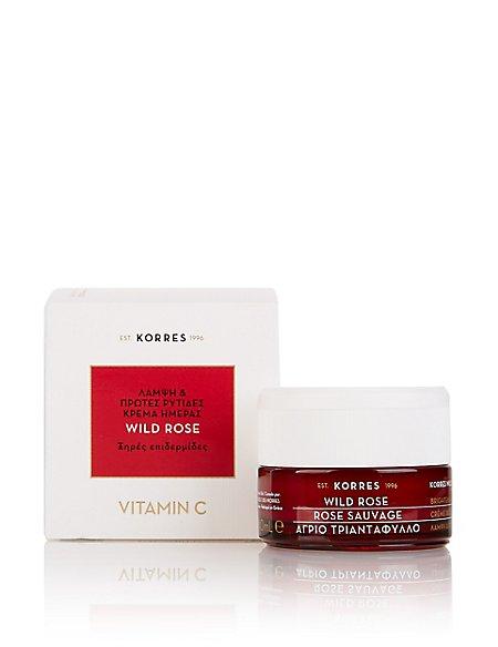 Wild Rose Vitamin C Day Cream for Dry Skin 40ml