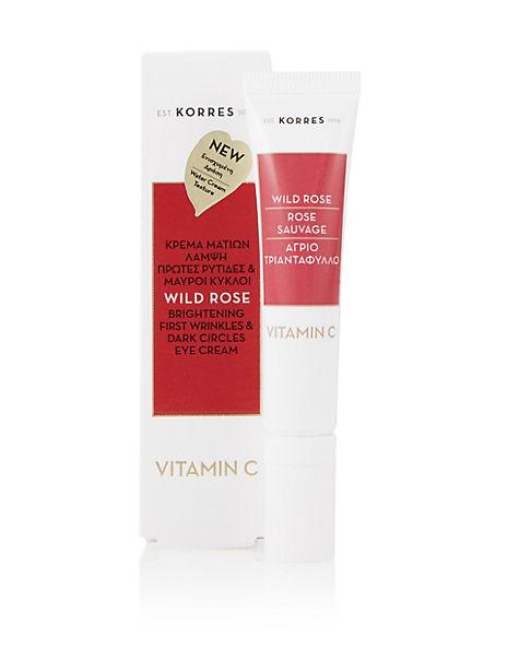 Wild Rose Vitamin C Eye Cream 15ml