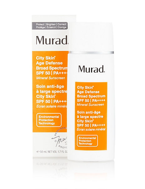 City Skin Broad Spectrum SPF 50 50ml