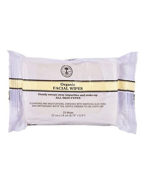 Organic Facial Wipes 25