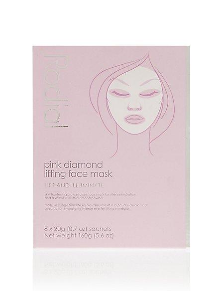 Pink Diamond Mask - 8 Pack