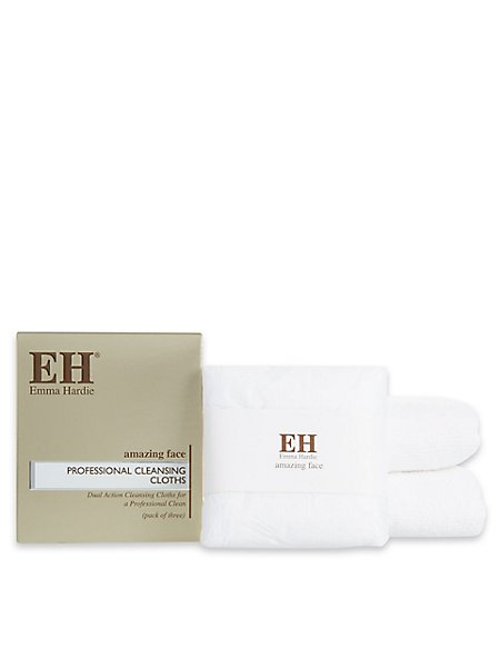 3 Pack Professional Cleansing Cloths