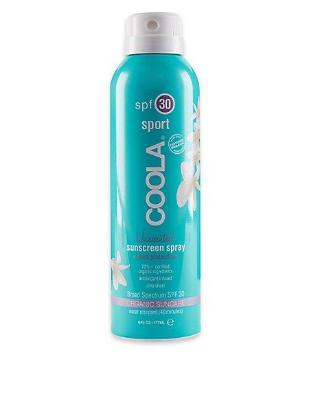 Sport Unscented Sunscreen Spray SPF30 177ml