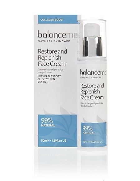Restore and Replenish Face Cream 50ml