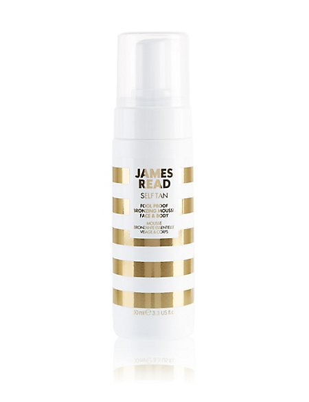 Fool Proof Bronzing Mousse Face & Body 100ml