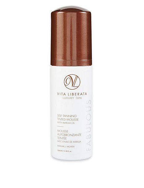 Self Tanning Medium Tinted Mousse 100ml