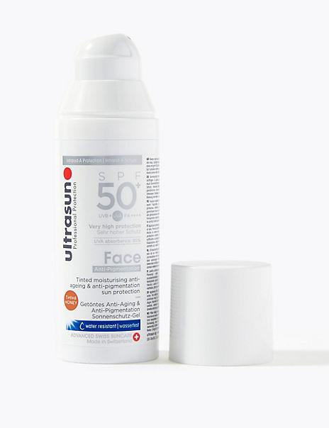 Face Tinted SPF 50+ Honey 50ml