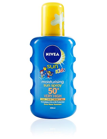 Protect & Moisture Kids Colour SPF50+ 200ml
