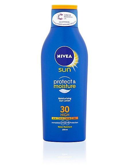 Protect & Moisture Sun Lotion SPF30 200ml