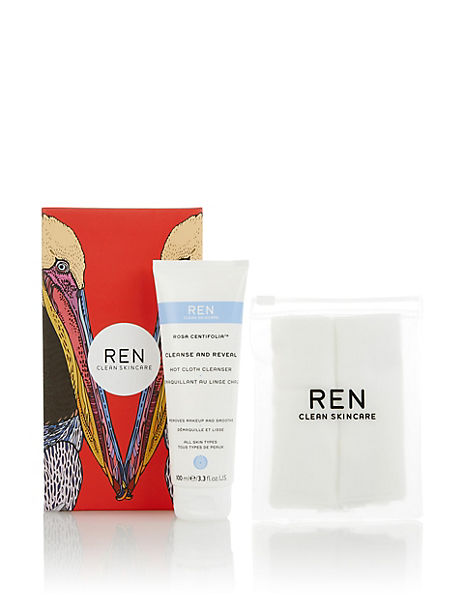 Rosa Centifolia™ Cleanse and Reveal Hot Cloth Cleanser
