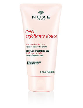 Gentle Exfoliating Gel with Rose Petals 75ml