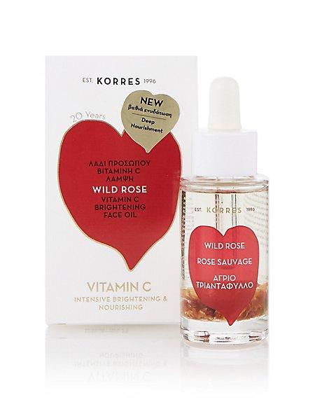 Wild Rose Vitamin C Brightening Face Oil 30ml