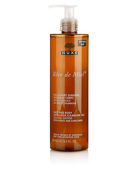 Rêve de Miel® Face & Body Ultra-Rich Cleansing Gel 400ml