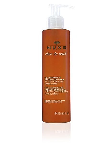 Rêve de Miel® Face Cleansing & Make-Up Removing Gel 200ml