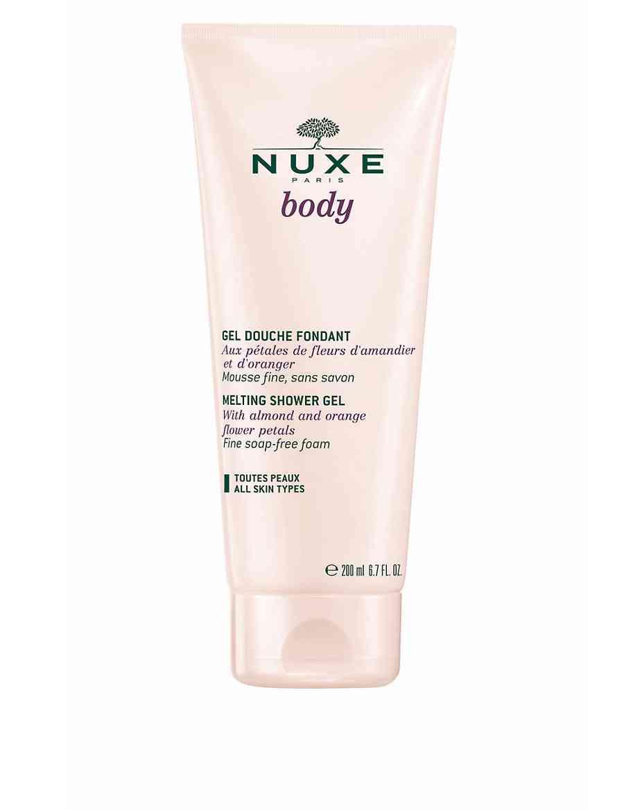 Body Fondant Shower Gel 200ml Nuxe Ms Champagne Foam