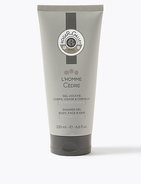 L'Homme Cedre Shower Gel 200ml