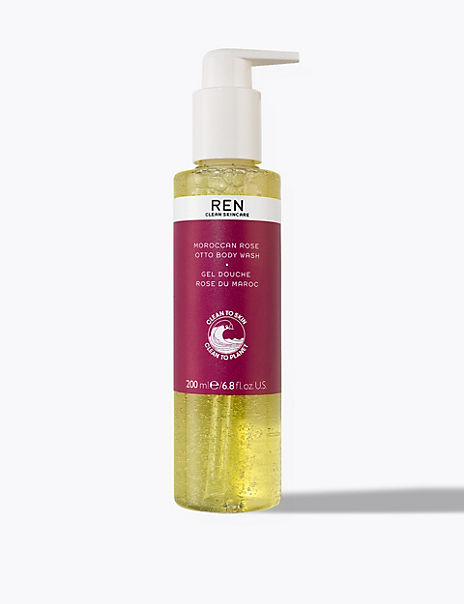 Moroccan Rose Otto Body Wash 200ml
