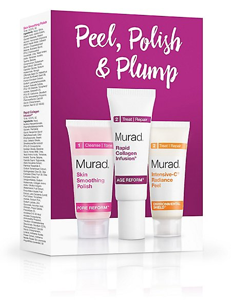 Peel, Polish & Plump Set 30ml