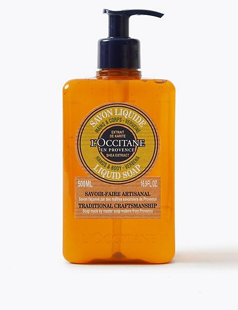 Verbena Liquid Soap 500ml