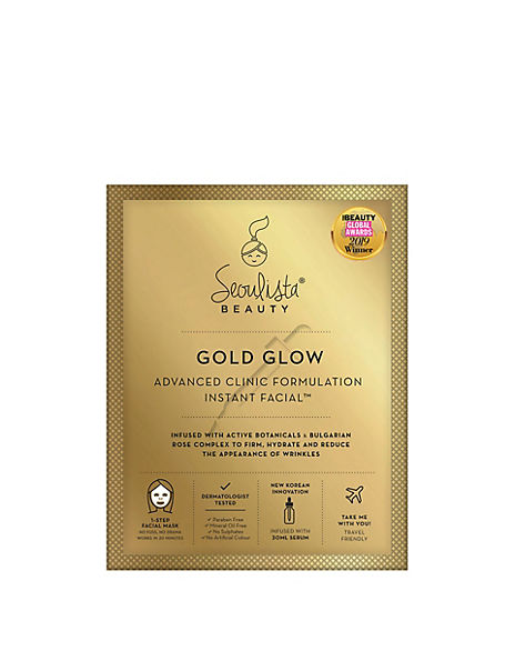 Gold Glow Mask Instant Facial
