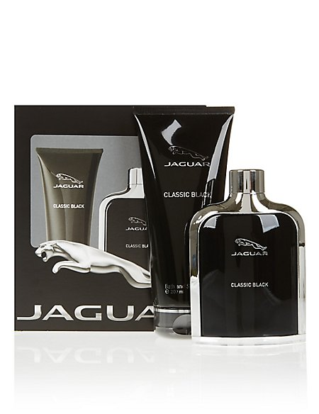 Classic Black Men's Fragrance Gift Set