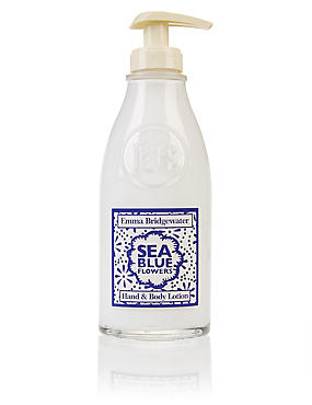 Sea Blue Flowers Hand & Body Lotion 300ml