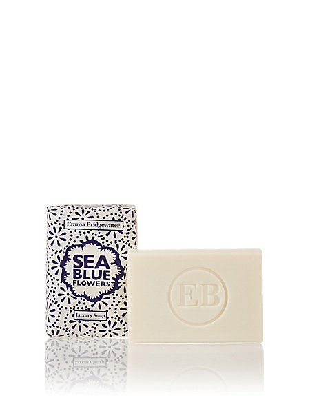 Sea Blue Flowers Soap 150g