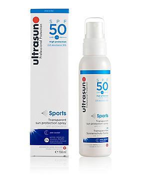 Clear Sun Protection Spray SPF50 150ml