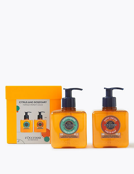 Citrus & Rosemary Liquid Soap Duo