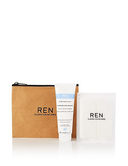 Rosa Centifolia™ Cleanse & Reveal Hot Cloth Cleanser Kit 100ml